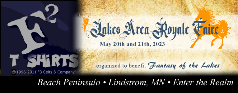 Lakes Area Royale Faire, May 18th & 19th, 2019