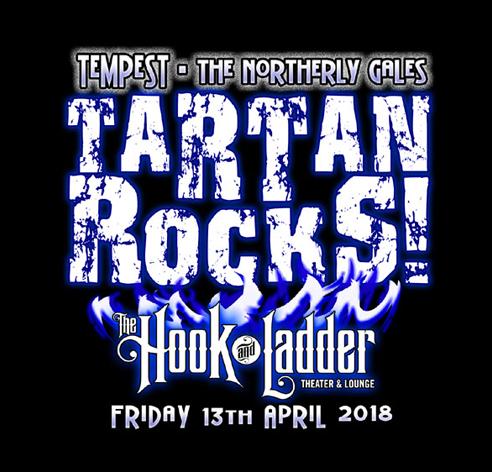 Tartan Rocks! Tempest 30th Anniversary Spring Tour & CD Release Concert, April 13th 2018