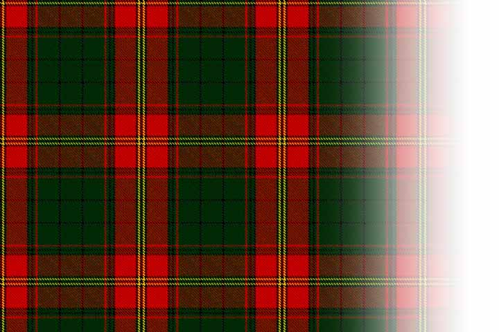 Ulster Red Tartan Wool Kilt